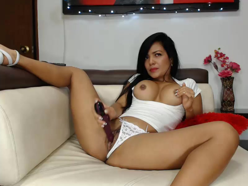 Sexy Stocking Dildo Solo